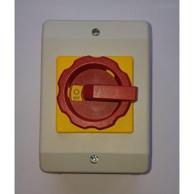 RLT16/3PM-D1/Z33GB   Red/Yellow Escutcheon